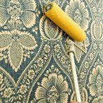 фото Ткань в интерьере стен от 13.11.2017 №027 - Fabric in the interior of the walls