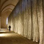 фото Ткань в интерьере стен от 13.11.2017 №032 - Fabric in the interior of the walls