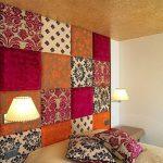 фото Ткань в интерьере стен от 13.11.2017 №034 - Fabric in the interior of the walls