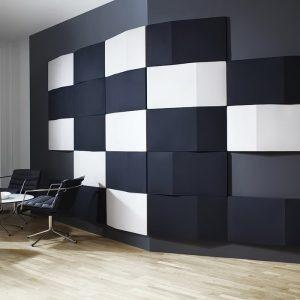 фото Ткань в интерьере стен от 13.11.2017 №041 - Fabric in the interior of the walls