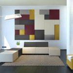 фото Ткань в интерьере стен от 13.11.2017 №044 - Fabric in the interior of the walls
