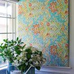 фото Ткань в интерьере стен от 13.11.2017 №055 - Fabric in the interior of the walls