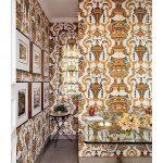 фото Ткань в интерьере стен от 13.11.2017 №068 - Fabric in the interior of the walls