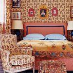 фото Ткань в интерьере стен от 13.11.2017 №069 - Fabric in the interior of the walls