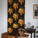 фото Ткань в интерьере стен от 13.11.2017 №073 - Fabric in the interior of the walls