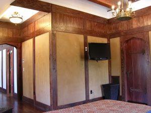 фото Ткань в интерьере стен от 13.11.2017 №088 - Fabric in the interior of the walls