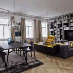 фото Яркие акценты в интерьере гостиной от 08.12.2017 №062 - 1 - design-foto.ru