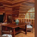 фото Интерьер в деревянном стиле от 27.12.2017 №001 - Interior in a woode - design-foto