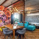 фото Интерьер в деревянном стиле от 27.12.2017 №002 - Interior in a woode - design-foto
