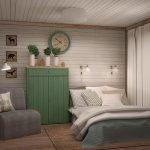 фото Интерьер в деревянном стиле от 27.12.2017 №011 - Interior in a woode - design-foto