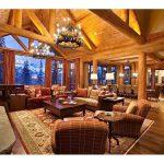 фото Интерьер в деревянном стиле от 27.12.2017 №017 - Interior in a woode - design-foto