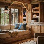 фото Интерьер в деревянном стиле от 27.12.2017 №019 - Interior in a woode - design-foto