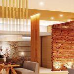 фото Интерьер в деревянном стиле от 27.12.2017 №032 - Interior in a woode - design-foto
