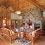 фото Интерьер в деревянном стиле от 27.12.2017 №050 - Interior in a woode - design-foto