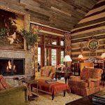 фото Интерьер в деревянном стиле от 27.12.2017 №052 - Interior in a woode - design-foto