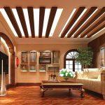 фото Интерьер в деревянном стиле от 27.12.2017 №055 - Interior in a woode - design-foto