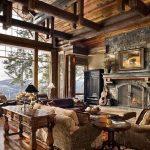 фото Интерьер в деревянном стиле от 27.12.2017 №059 - Interior in a woode - design-foto