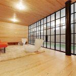 фото Интерьер в деревянном стиле от 27.12.2017 №068 - Interior in a woode - design-foto