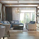 фото Интерьер в деревянном стиле от 27.12.2017 №076 - Interior in a woode - design-foto