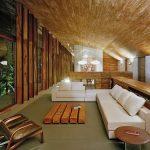 фото Интерьер в деревянном стиле от 27.12.2017 №078 - Interior in a woode - design-foto