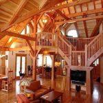 фото Интерьер в деревянном стиле от 27.12.2017 №081 - Interior in a woode - design-foto