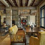 фото Интерьер в деревянном стиле от 27.12.2017 №084 - Interior in a woode - design-foto