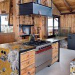 фото Интерьер в деревянном стиле от 27.12.2017 №085 - Interior in a woode - design-foto
