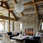 фото Интерьер в деревянном стиле от 27.12.2017 №087 - Interior in a woode - design-foto