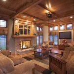 фото Интерьер в деревянном стиле от 27.12.2017 №088 - Interior in a woode - design-foto