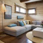 фото Интерьер в деревянном стиле от 27.12.2017 №089 - Interior in a woode - design-foto