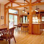 фото Интерьер в деревянном стиле от 27.12.2017 №097 - Interior in a woode - design-foto