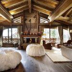 фото Интерьер в деревянном стиле от 27.12.2017 №098 - Interior in a woode - design-foto