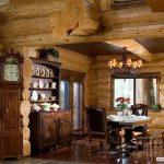 фото Интерьер в деревянном стиле от 27.12.2017 №099 - Interior in a woode - design-foto