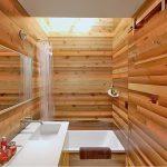фото Интерьер в деревянном стиле от 27.12.2017 №100 - Interior in a woode - design-foto