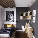 фото Интерьер маленькой комнаты от 10.12.2017 №013 - Interior of a small - design-foto.ru