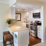 фото Интерьер маленькой кухни от 27.12.2017 №006 - Interior of a small kitchen - 2018