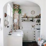 фото Интерьер маленькой кухни от 27.12.2017 №008 - Interior of a small kitchen - 2018