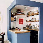 фото Интерьер маленькой кухни от 27.12.2017 №009 - Interior of a small kitchen - 2018