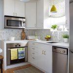 фото Интерьер маленькой кухни от 27.12.2017 №012 - Interior of a small kitchen - 2018