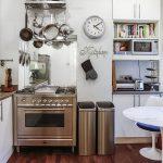фото Интерьер маленькой кухни от 27.12.2017 №015 - Interior of a small kitchen - 2018