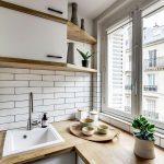 фото Интерьер маленькой кухни от 27.12.2017 №022 - Interior of a small kitchen - 2018