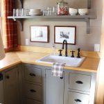 фото Интерьер маленькой кухни от 27.12.2017 №023 - Interior of a small kitchen - 2018