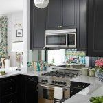 фото Интерьер маленькой кухни от 27.12.2017 №028 - Interior of a small kitchen - 2018