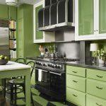 фото Интерьер маленькой кухни от 27.12.2017 №029 - Interior of a small kitchen - 2018