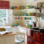 фото Интерьер маленькой кухни от 27.12.2017 №032 - Interior of a small kitchen - 2018