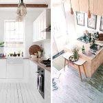 фото Интерьер маленькой кухни от 27.12.2017 №035 - Interior of a small kitchen - 2018
