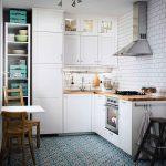 фото Интерьер маленькой кухни от 27.12.2017 №045 - Interior of a small kitchen - 2018
