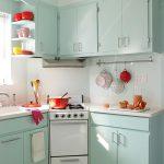 фото Интерьер маленькой кухни от 27.12.2017 №055 - Interior of a small kitchen - 2018