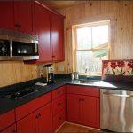 фото Интерьер маленькой кухни от 27.12.2017 №055 - Interior of a small kitchen - 2018 2352623434