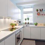 фото Интерьер маленькой кухни от 27.12.2017 №061 - Interior of a small kitchen - 2018